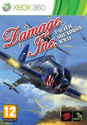 Copertina del gioco Damage Inc. Pacific Squadron WWII per Xbox 360