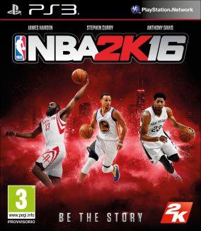 Copertina del gioco NBA 2K16 per Playstation 3