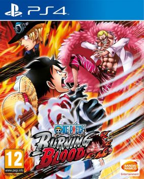 Copertina del gioco One Piece: Burning Blood per Playstation 4