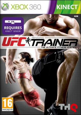 Copertina del gioco UFC Personal Trainer: The Ultimate Fitness System per Xbox 360