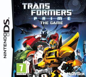 Copertina del gioco Transformers Prime per Nintendo DS