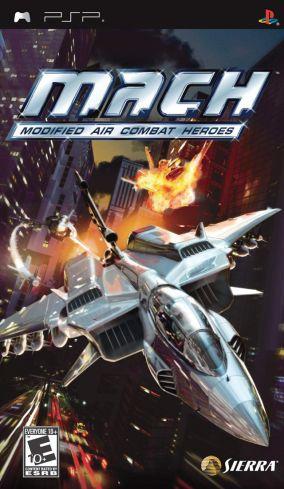 Copertina del gioco M.A.C.H: Modified Air Combat Heroes per Playstation PSP