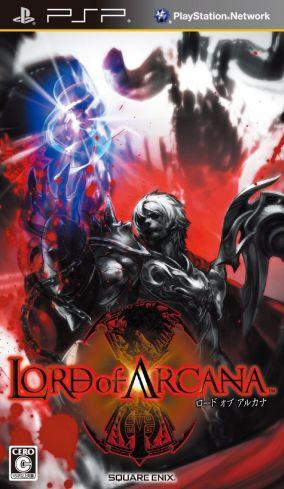 Copertina del gioco Lord of Arcana per Playstation PSP