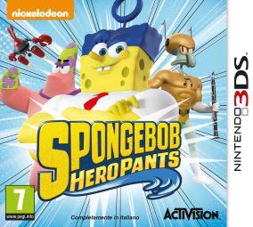 Copertina del gioco SpongeBob HeroPants per Nintendo 3DS