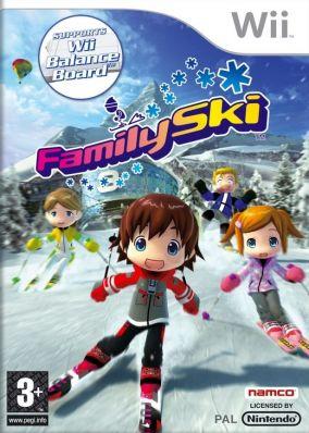 Copertina del gioco Family Ski per Nintendo Wii