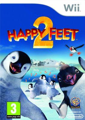 Copertina del gioco Happy Feet 2 per Nintendo Wii
