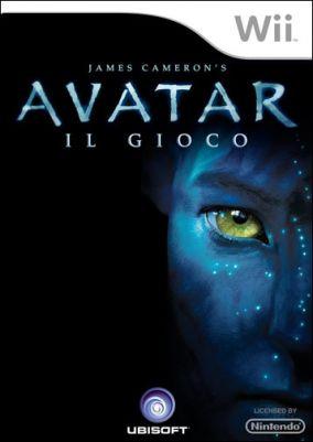 Copertina del gioco James Cameron's Avatar per Nintendo Wii