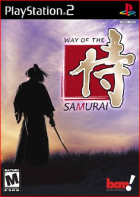 Copertina del gioco Way of the Samurai per Playstation 2