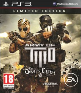 Immagine della copertina del gioco Army of Two: The Devil's Cartel per Playstation 3