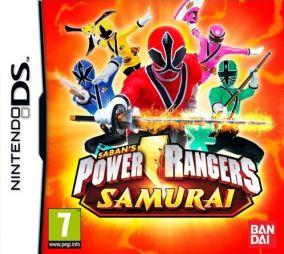 Copertina del gioco Power Rangers Samurai per Nintendo DS