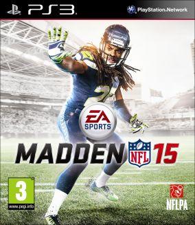 Copertina del gioco Madden NFL 15 per Playstation 3