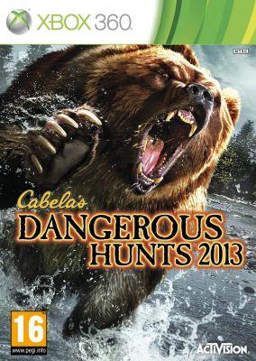 Copertina del gioco Cabela's Dangerous Hunts 2013 per Xbox 360
