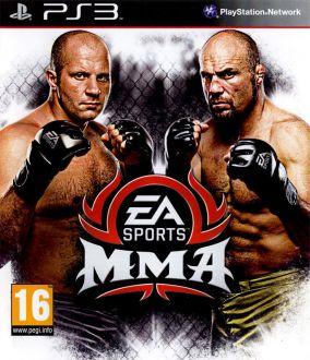Copertina del gioco EA Sports MMA per Playstation 3