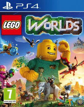 Copertina del gioco LEGO Worlds per Playstation 4