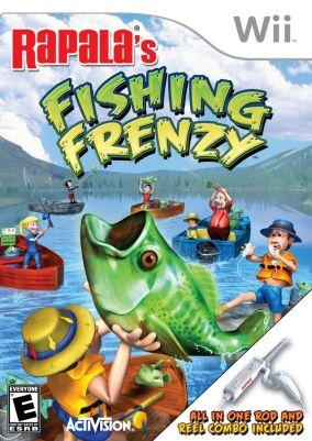 Copertina del gioco Rapala Fishing Frenzy per Nintendo Wii