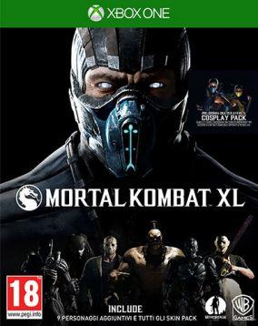 Copertina del gioco Mortal Kombat XL per Xbox One