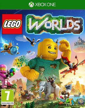 Copertina del gioco LEGO Worlds per Xbox One