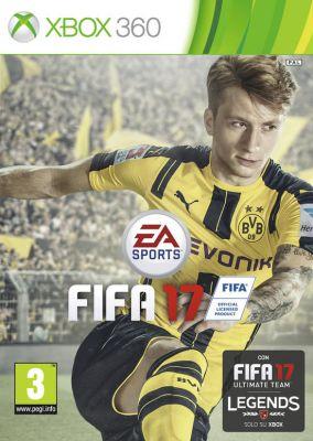 Copertina del gioco FIFA 17 per Xbox 360