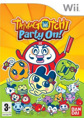 Copertina del gioco Tamagotchi: Party On! per Nintendo Wii