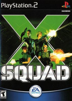 Copertina del gioco X-Squad per Playstation 2