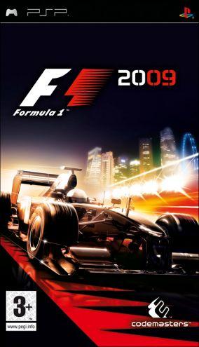 Copertina del gioco F1 2009 per Playstation PSP