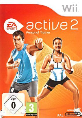 Copertina del gioco EA Sports Active 2 per Nintendo Wii