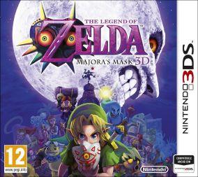 Copertina del gioco The Legend of Zelda: Majora's Mask 3D per Nintendo 3DS