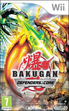 Copertina del gioco Bakugan Battle Brawlers: I Difensori della Terra per Nintendo Wii