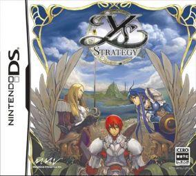 Copertina del gioco Ys Strategy per Nintendo DS