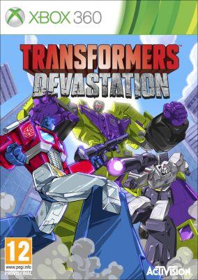 Copertina del gioco Transformers: Devastation per Xbox 360