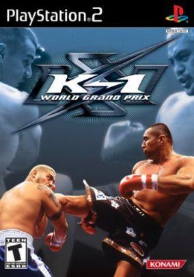 Copertina del gioco K-1 World Grand Prix per Playstation 2