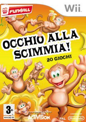 Copertina del gioco Occhio alla Scimmia! per Nintendo Wii