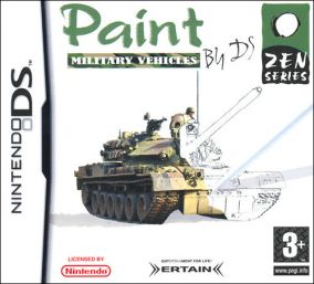 Copertina del gioco Paint By DS: Military Vehicles per Nintendo DS