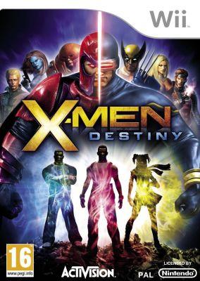 Copertina del gioco X-Men: Destiny per Nintendo Wii