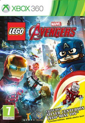 Copertina del gioco LEGO Marvel's Avengers per Xbox 360