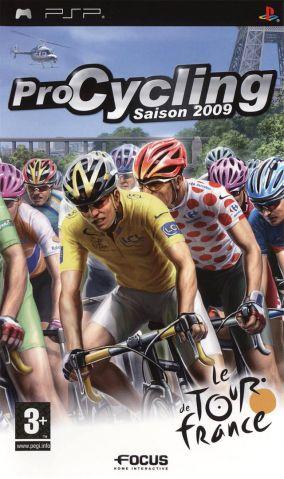Copertina del gioco Pro Cycling Manager - Tour De France 2009 per Playstation PSP