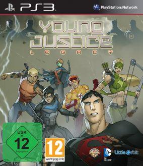 Copertina del gioco Young Justice: Legacy per Playstation 3