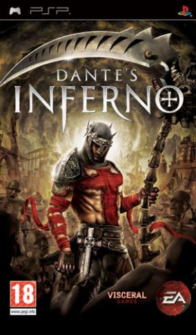Copertina del gioco Dante's Inferno per Playstation PSP