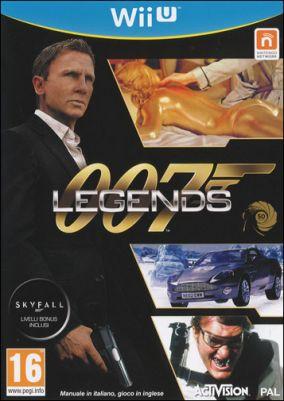 Copertina del gioco 007 Legends per Nintendo Wii U