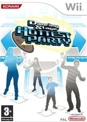 Copertina del gioco Dancing Stage Hottest Party per Nintendo Wii