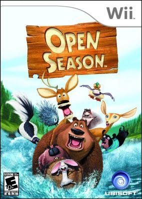 Copertina del gioco Open Season per Nintendo Wii