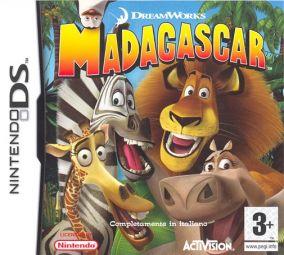 Copertina del gioco Madagascar per Nintendo DS
