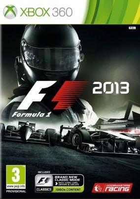 Copertina del gioco F1 2013 per Xbox 360