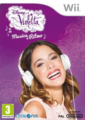 Copertina del gioco Violetta: Musica e Ritmo per Nintendo Wii