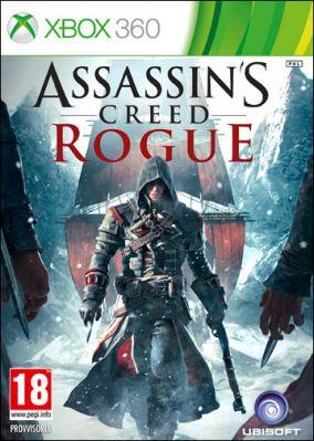 Copertina del gioco Assassin's Creed Rogue per Xbox 360