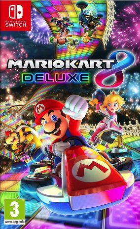 Copertina del gioco Mario Kart 8 Deluxe per Nintendo Switch