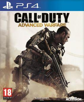 Copertina del gioco Call of Duty: Advanced Warfare per Playstation 4