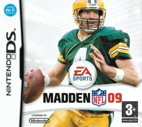 Copertina del gioco Madden NFL 09 per Nintendo DS