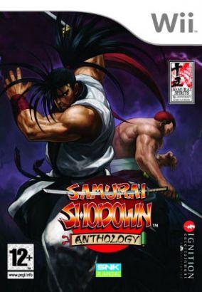 Copertina del gioco Samurai Shodown Anthology per Nintendo Wii