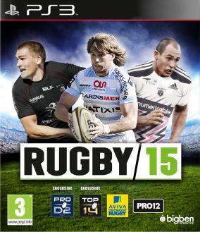 Copertina del gioco Rugby 15 per Playstation 3